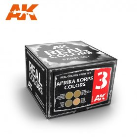 AK Real Colors AFRIKA KORPS COLORS SET