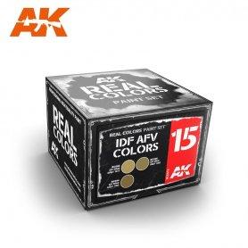 AK Real Colors IDF AFV Color Set