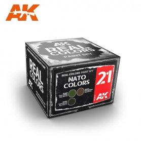 AK Real Colors NATO COLORS SET