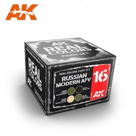 AK Real Colors Russian Modern AFV Color Set