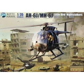 Kitty Hawk 1:35 AH-6J / MH-6J LITTLE BIRD NIGHTSTALKERS