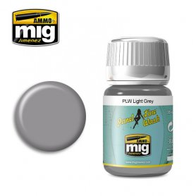 Ammo of Mig Panel Line Wash Light Gray