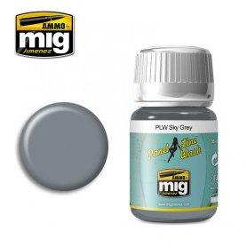 Ammo of Mig PANEL LINE WASH Sky Grey / 35ml
