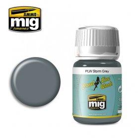 Ammo of Mig PANEL LINE WASH Storm Gray / 35ml