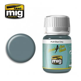 Ammo of Mig PANEL LINE WASH Blue Grey / 35ml