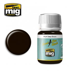 Ammo of Mig PANEL LINE WASH Deep Brown / 35ml