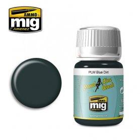 Ammo of Mig PANEL LINE WASH Blue Dirt / 35ml