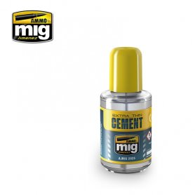 Ammo of Mig EXTRA THIN Cement / 30ml