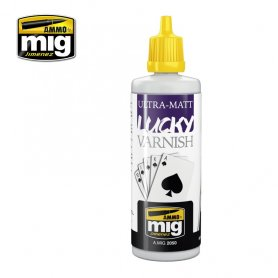 Ammo of Mig LUCKY VARNISH Ultra Matt / 60ml