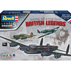 Revell 05696 1/72 Flying Legend zestaw upom.