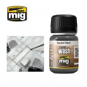 Ammo of MIG ENAMEL WASH Neutral Wash / 35ml