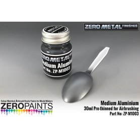 ZERO PAINTS M1003 - Farba Medium Aluminium 30ml