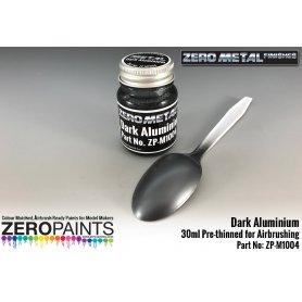 Zero Paints M1004 ZERO METAL Farba Dark Aluminium / 30ml