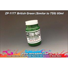 Zero Paints 1177 British Green / SIMILAR TO TS9 / 60ml