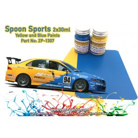 Zero Paints 1307 Spoon Sports Blue and Yellow / 2x30ml
