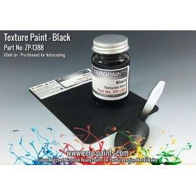 Zero Paints 1388 Farba teksturowa BLACK TEXTURED PAINT - 60ml