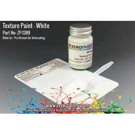 Zero Paints 1389 Farba teksturowa WHTE TEXTURED PAINT - 60ml