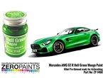 ZERO PAINTS 1468 Mercedes AMG GT R Hell Green Mat