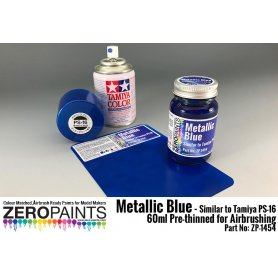 ZP1454 - Metallic Blue Paint Similar to PS-16 60ml