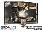 ZERO PAINTS 1474 - Pearl Beige Scania R730 60ml