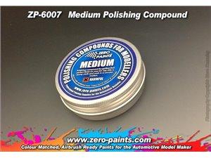 ZERO PAINTS 6007 Polishing Compound MEDIUM 75g