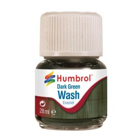 Humbrol Emanel Wash - Dark Green