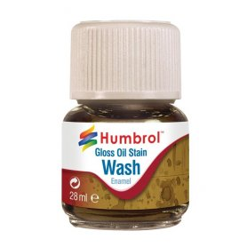 Humbrol Emanel Wash - Oil Stain