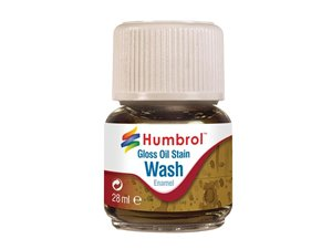 Humbrol Emanel Wash - Oil Stain
