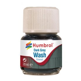 Humbrol Emanel Wash - Dark Grey