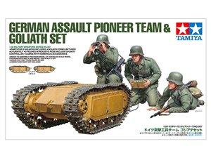 Tamiya 35357 1/35 German Goliath w/Pioneer Team