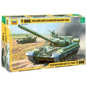 Zvezda 3590 Russian Main Battle Tank T-80B