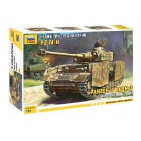 Zvezda 5017 Panzer IV Ausf.H 1/72
