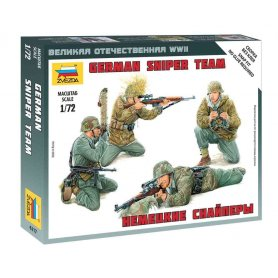 Zvezda 6217 German Sniper Team 1/72