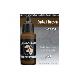 Scale 75 COLOR SC-13 Dubai Bronw / 17ml