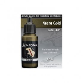 Scale 75 ScaleColor SC-71 Necro Gold / 17ml