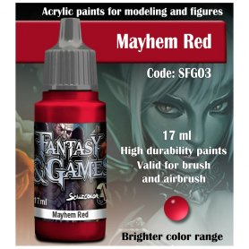 Scale 75 ScaleColor / FantasyGame SFG-03 Mayhem Red / 17ml