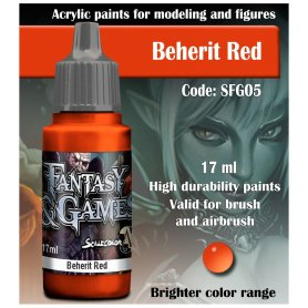 Scale 75 ScaleColor / FantasyGame SFG-05 Beherit Red / 17ml