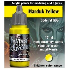 Scale 75 ScaleColor / FantasyGame SFG-08 Marduk Yellow / 17ml