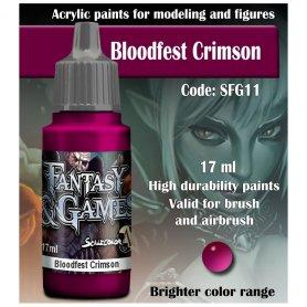 Scale 75 ScaleColor / FantasyGame SFG-11 Bloodfest Crimson / 17ml