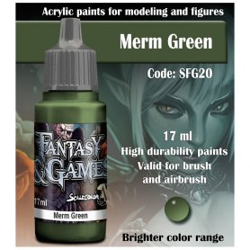 Scale Color Merm Green 17ml