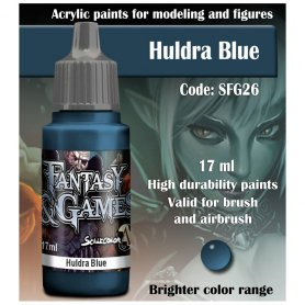 Scale 75 ScaleColor FANTASY AND GAMES SFG-26 Huldra Blue 17ml