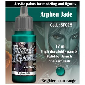 Scale 75 ScaleColor FANTASY AND GAMES SFG-28 Arphen Jade 17ml