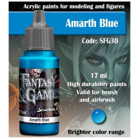 Scale 75 ScaleColor FANTASY AND GAMES SFG-30 Amarth Blue 17ml