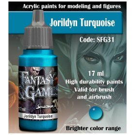 Scale 75 ScaleColor FANTASY AND GAMES SFG-31 Jorildyn Turquoise 17ml