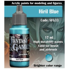 Scale 75 ScaleColor FANTASY AND GAMES SFG-33 Hiril Blue 17ml