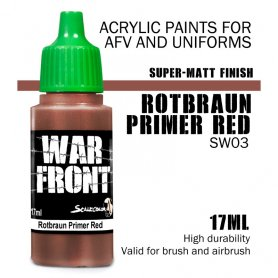 Scale 75 ScaleColor WARFRONT SW-03 Color Rotbraun Primer / 17ml