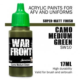 Scale 75 ScaleColor WARFRONT SW-10 Color SS Camo Medium Green / 17ml