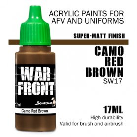 Scale 75 ScaleColor WARFRONT SW-17 SS Camo Red Brown / 17ml