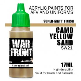 Scale 75 ScaleColor WARFRONT SW-21 SS Camo Yellow Sand / 17ml