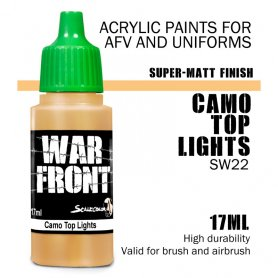 Scale 75 ScaleColor WARFRONT SW-22 SS Camo Top Lights / 17ml